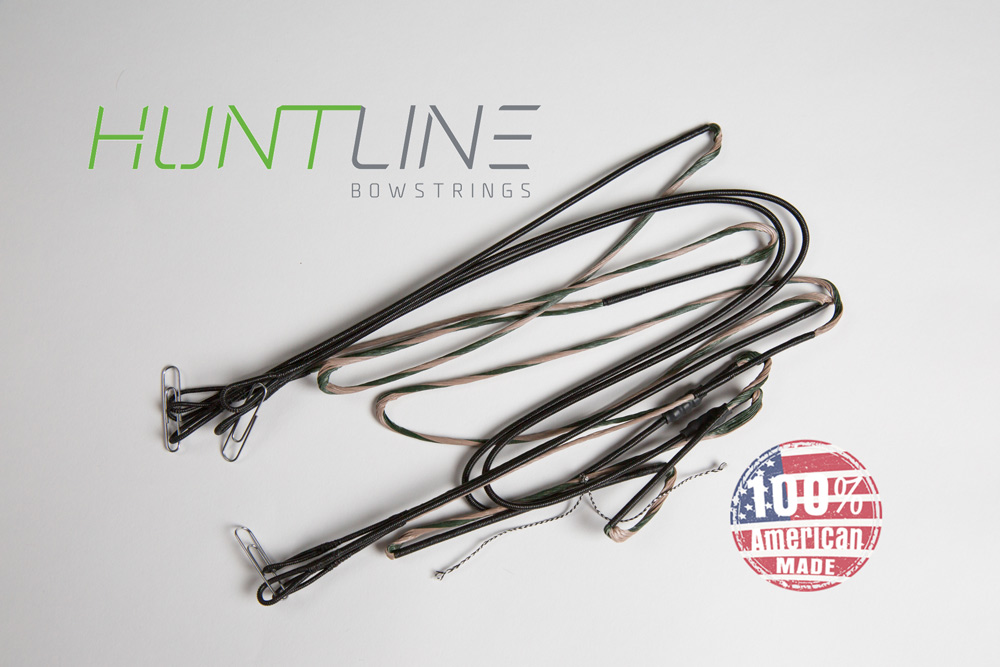 Huntline Custom replacement bowstring for Hoyt 2013-14  Pro Comp Elite XL Spiral X # 7.5 - 8