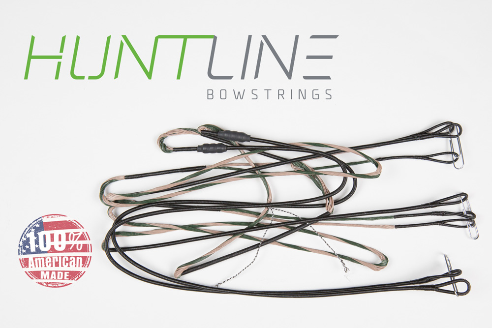 Huntline Custom replacement bowstring for Hoyt 2013 Pro Comp Elite Spiral X # 0.5 - 2.5