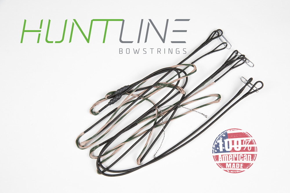 Huntline Custom replacement bowstring for Parker Pheonix 36 EXT Cam Black Cam